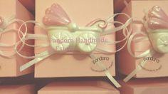 Bomboniera gessetto carrozzina con confezione completa by Pandora Handmade & Eventi