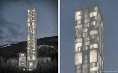 7132 Hotel Therme in Vals, Schweiz   Max Dudler Architekt   2014 Wettbewerbsvisualisierung