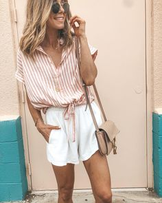 Dressy Shorts Outfits For Every Occasion Cute Date Outfits, Short Outfits, Trendy Outfits, Fashion Outfits, Womens Fashion, Summer Outfits Women, Spring Outfits, Oufits Casual, Outfit Goals