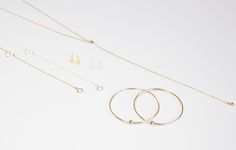 Cyclical Industry | Dainty Handmade Jewelry Made in NYC Gold Filled, Sterling Silver Geometric Shapes, Personal Style, Handmade Jewelry, Delicate, Gold Necklace, Jewelry Making, Nyc, Sterling Silver, Bracelets