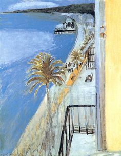 Henri Matisse - Fauvisme - The Bay of Nice, 1918