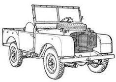 Truck Coloring Pages, Land Rovers, Copics, Monster Trucks, Projects To Try, Scrapbooking, Action, Animation, Patterns