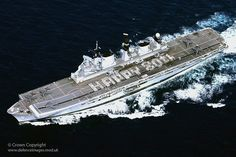 HMS Illustrious Wishes HM Queen Elizabeth a Happy 80th Birthday by Defence Images, via Flickr