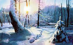 Рождественское утро - II, автор Пасичник Владимир Семенович. Артклуб Gallerix