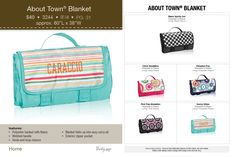 about-town-blanket  #thirtyone #summer2014 #home www.toteallyblessed.com