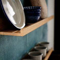 Shelves and wall ledges are the perfect opportunity to show your personal style, share a collection or organize your life. Wall Ledge, The Ledge, Wall E, Wall Plug, Kitchen Shelves, Kitchen Storage, Kitchen Organization, Ikea Photo Ledge, Packaging