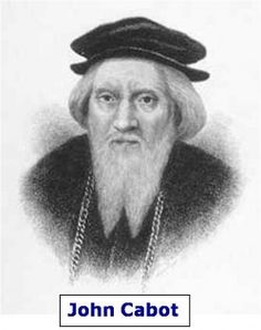 """John Cabot was an English explorer who was sent to explore the """"New World"""" by King Henry VII. England was anxious to explore the lands explored by Christopher Columbus. England was also interested. Canadian Things, I Am Canadian, Canadian History, American History, Discover Canada, Newfoundland And Labrador, Newfoundland Canada, Exploration, We Are The World"""