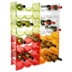 Acrylic wine rack system FLASH