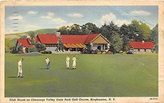 chenango valley state park golf course; where I learned to play golf