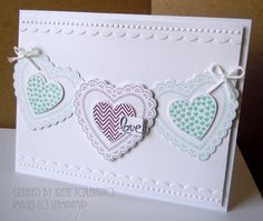 Stampin' Up! Valentine  by Irene T at Relax. Make a Card: Hearts A Flutter Love Card