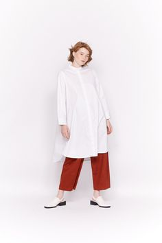 #Design #Alpha60 #Alpha60 Fashion Fashion Labels, Mandarin Collar, Fashion Boutique, Hemline, White Dress, Normcore, Model, Sleeves, How To Wear
