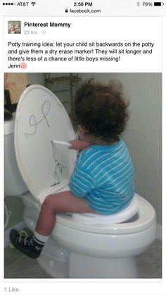 Repost great Potty training tip!