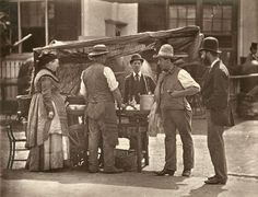 The Sellers of Shell-fish    From 'Street Life in London', 1877, by John Thomson…