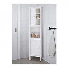 black corner cabinet for small bathroom | IKEA - HEMNES Corner cabinet black-brown in 2019 ...