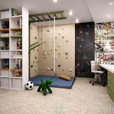 36 Ideas for diy kids room ideas climbing wall