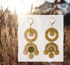 Everyone is loving our Orbit statement earrings! Find them in the shop or online 💫 Handcrafted Jewelry, Earrings Handmade, Fair Trade Jewelry, Statement Earrings, Washer Necklace, Artisan, Stationery, Shop, Gifts