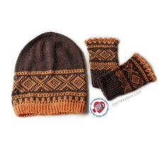 Lue og pulsvanter Handbag Accessories, Women Accessories, Alpacas, Mittens, Knitted Hats, Knitting, Norway, How To Make, Fashion