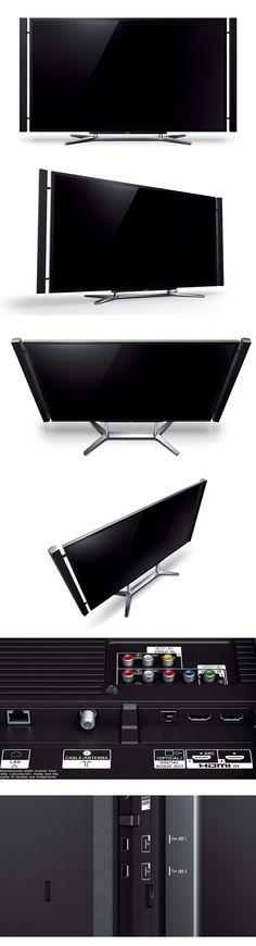 4k/UHD tv screen from Sony. Tha'ts 3,840 x 2,160 pixel resolution!