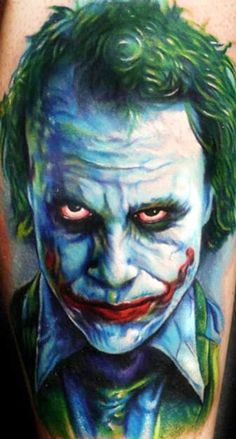 Tattoo Artist - Paul Acker - Joker tattoo