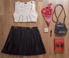 Look de desapegos: rock festival girl