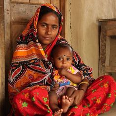 The blessing of mothers! | #India