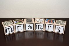 Personalized Wedding Blocks-Personalized Wooden by DecoBlox