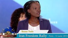 NCRI - Iranian opposition leader Mrs. Maryam Rajavi is guiding the Iranian people toward obtaining freedom from clerical rule, France's former Human Rights Minister has said. Rama Yade, a member of Nicolas Sarkozy's government until 2010, made th...