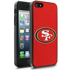 NFL San Francisco 49ers Hard Case With Logo for Apple iPhone 5