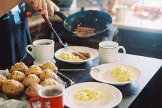 breakfast. food photography.