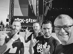 @rockenseine The Newloc team this afternoon at Rock En Seine Festival StCloud France #backline