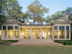 """Historical Concepts is synonymous with traditional Southern architecture. Since 1982, the firm's founder Jim Strickland and his team have been designing quality buildings that fit seamlessly into the Southern landscape. It's no surprise that they were tapped onto the """"Dream Team"""" to build this year's Idea House — a timeless farmhouse."""
