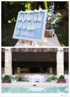 table plan / seating plan wedding                       photo: Catherine O'hara photography
