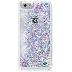 Rinastore iPhone Plus case,iphone 6 Plus case,Creative Design Flowing Quicksand Moving Stars Bling Glitter Floating Dynamic Flowing Case Liquid Cover for Iphone (Pink heart) Iphone 6 Plus Case, Cute Phone Cases, Iphone Phone Cases, Funda Iphone 6 Plus, Coque Iphone 5s, Portable Apple, Glitter Iphone 6 Case, Telephone Iphone, Accessoires Iphone
