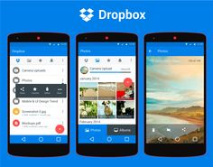 Dropbox Material Design 2014