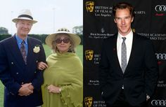 Actors Timothy Carlton and Wanda Ventham and their actor son, Benedict Cumberbatch   Photo by Matt Sayles/Invision/AP