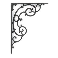 beautiful iron decorative bracket for making shelves, or a plant hanger. Cheap Room Dividers, Office Room Dividers, Room Divider Shelves, Decorative Room Dividers, Portable Room Dividers, Wooden Room Dividers, Sliding Room Dividers, Diy Room Divider, Divider Ideas