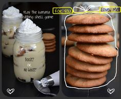 """Gluten Free Banana Pudding from """"Gluten Free on a Shoestring""""."""