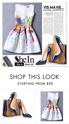 """""""SheIn Contest"""" by selmagorath ❤ liked on Polyvore featuring Christian Louboutin, Charles Albert, Sheinside and shein"""