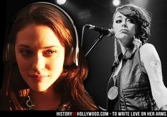 Kat Dennings in the To Write Love On Her Arms movie and the real Renee Yohe performing. See more TWLOHA pics here: http://www.historyvshollywood.com/reelfaces/to-write-love-on-her-arms/