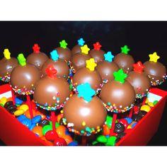 Popcakes & m's.. Sweet!!