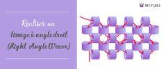 Comment réaliser un tissage à angle droit (Right Angle Weave) ?