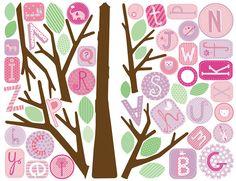 """Nos stickers tels que vous les recevez chez vous! #stickers #chambre #déco #idéedéco """"enfant"""