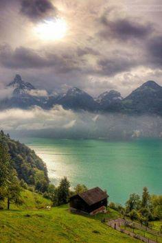 Switzerland - Will look to this picture whenever I am going crazy to see if helps me getting calm. http://www.travelbrochures.org/273/europa/visit-your-dream-destination-switzerland