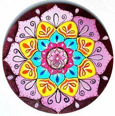 Fa mandala 15cm. Decorative Plates, Mandala, Tableware, Home Decor, Faith, Dinnerware, Decoration Home, Room Decor, Tablewares