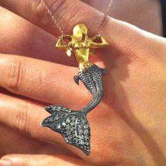Winged Mermaid - fly away pretty!