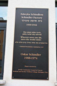 Krakow, Poland  -  The recently renovated Oskar Schindler's Factory.