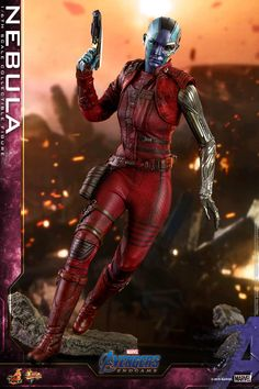 Hot Toys have announced a new Avengers: Endgame – scale Nebula Collectible Figure. Here are the details: Earth Mightiest Heroes failed to stop [. Marvel Avengers, Marvel E Dc, Marvel Heroes, Marvel Comics, Avengers Movies, Iconic Characters, Marvel Characters, Marvel Universe, Hawkeye