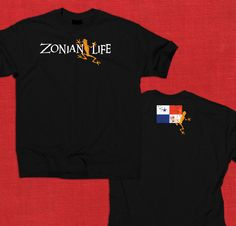 """Zonian Life Frog Tee 2 // COMING SOON!!  If you have interest in this shirt visit us on Facebook and let us know that you want the """"Panama Presale"""" https://www.facebook.com/ZonianLife"""