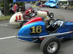 Vintage Midget Race Cars - These Cars Are Beautiful!