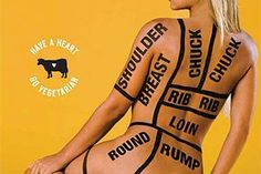 Peta activist Jodie Marsh tattoos entire body with primal cut chart to protest German toy manufacturer's new line